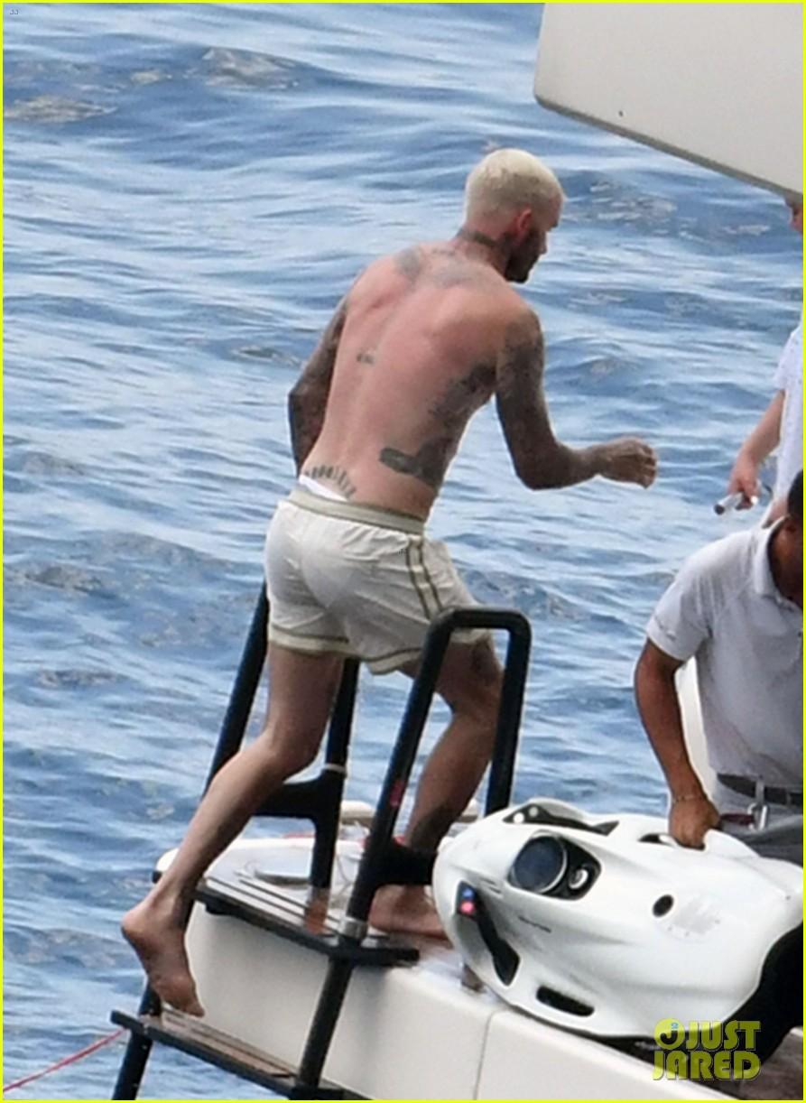 david beckham jumps off yacht with son cruz beckham 154594581