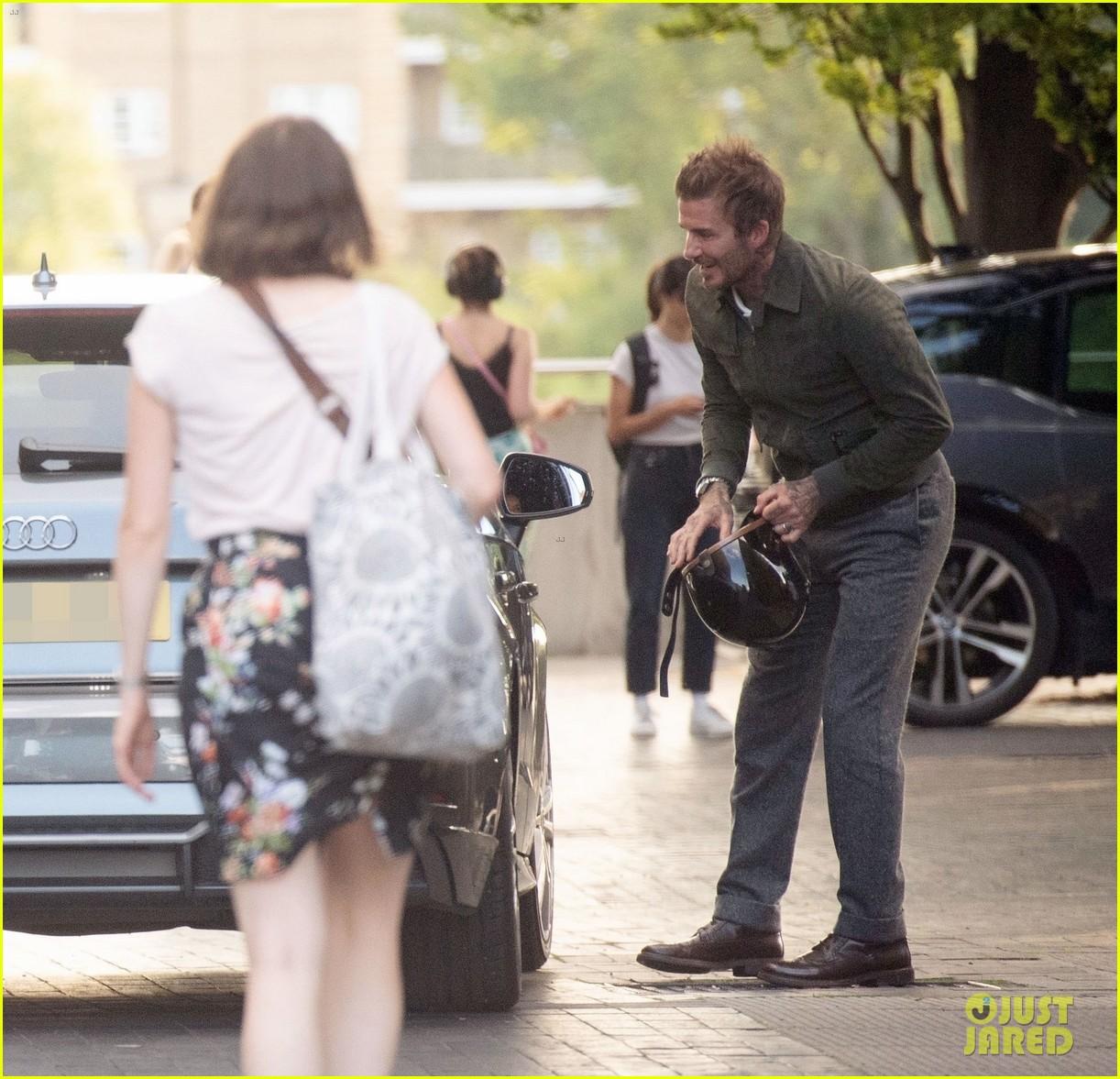 david beckham starstuck meeting this iconic actor 314590878