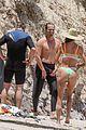 gerard butler morgan brown surfing beach day 46