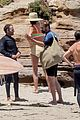 gerard butler morgan brown surfing beach day 85