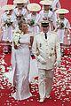 princess charlene prince albert anniversary apart 08