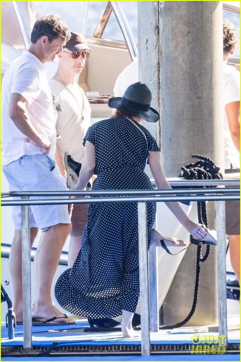 jessica chastain runs into sting in italy 024591673
