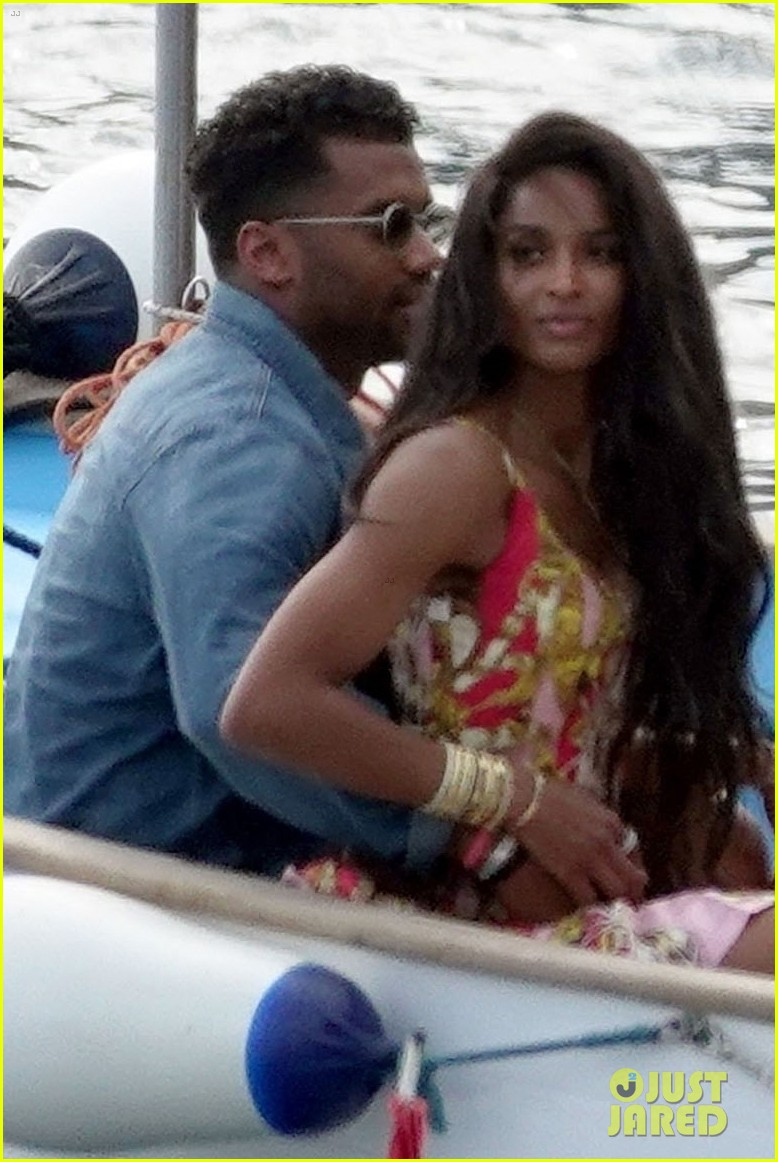 ciara russell wilson lunch date kisses italy 084585730