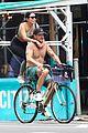 diplo goes on shirtless bike ride 05