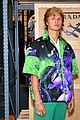 ansel elgort shows off completely shaved head 11
