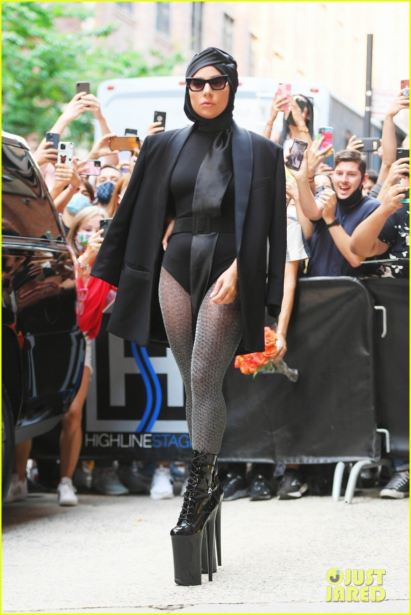 lady gaga slays nyc in two super chic looks 034596723