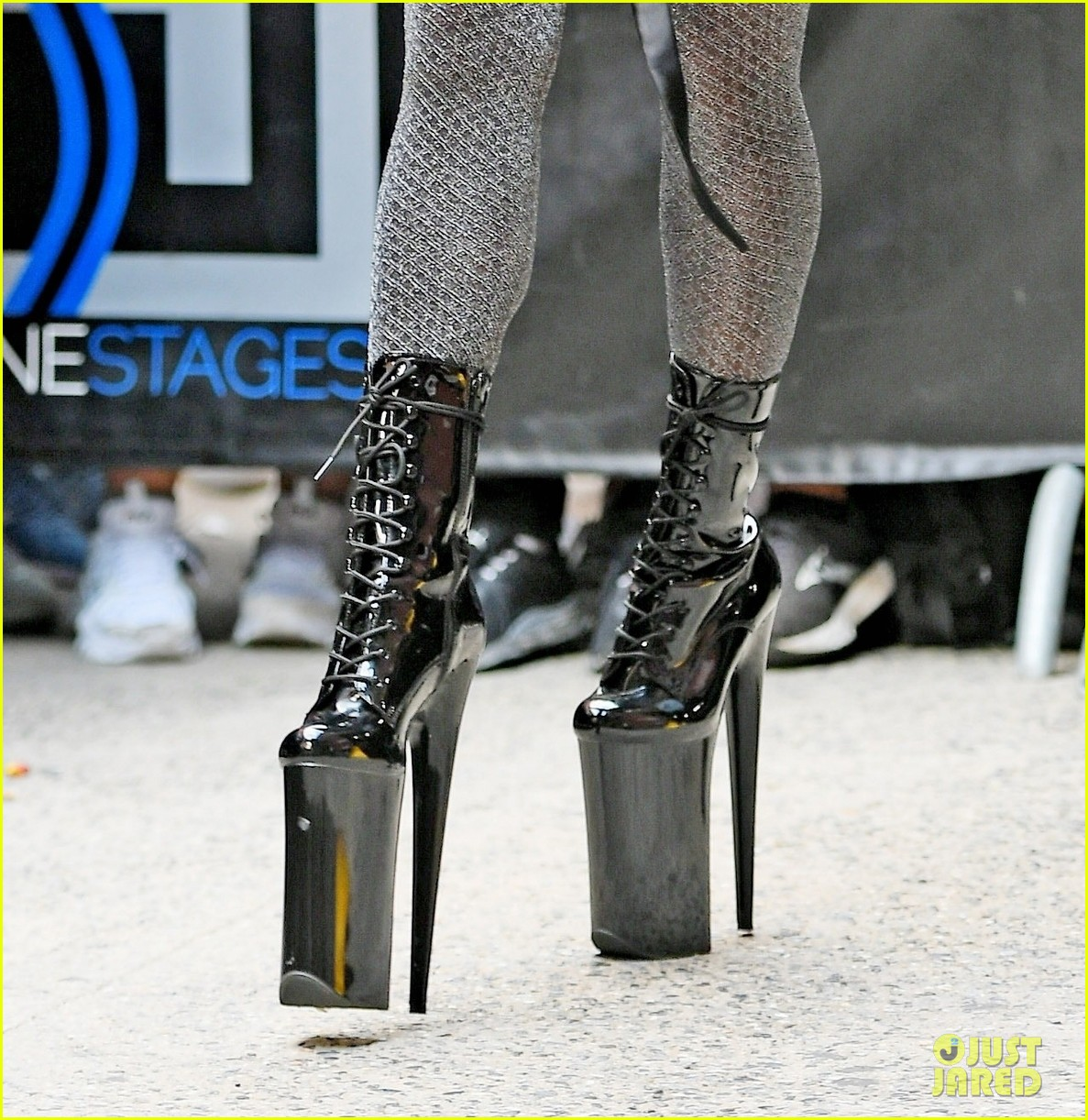 lady gaga slays nyc in two super chic looks 054596725