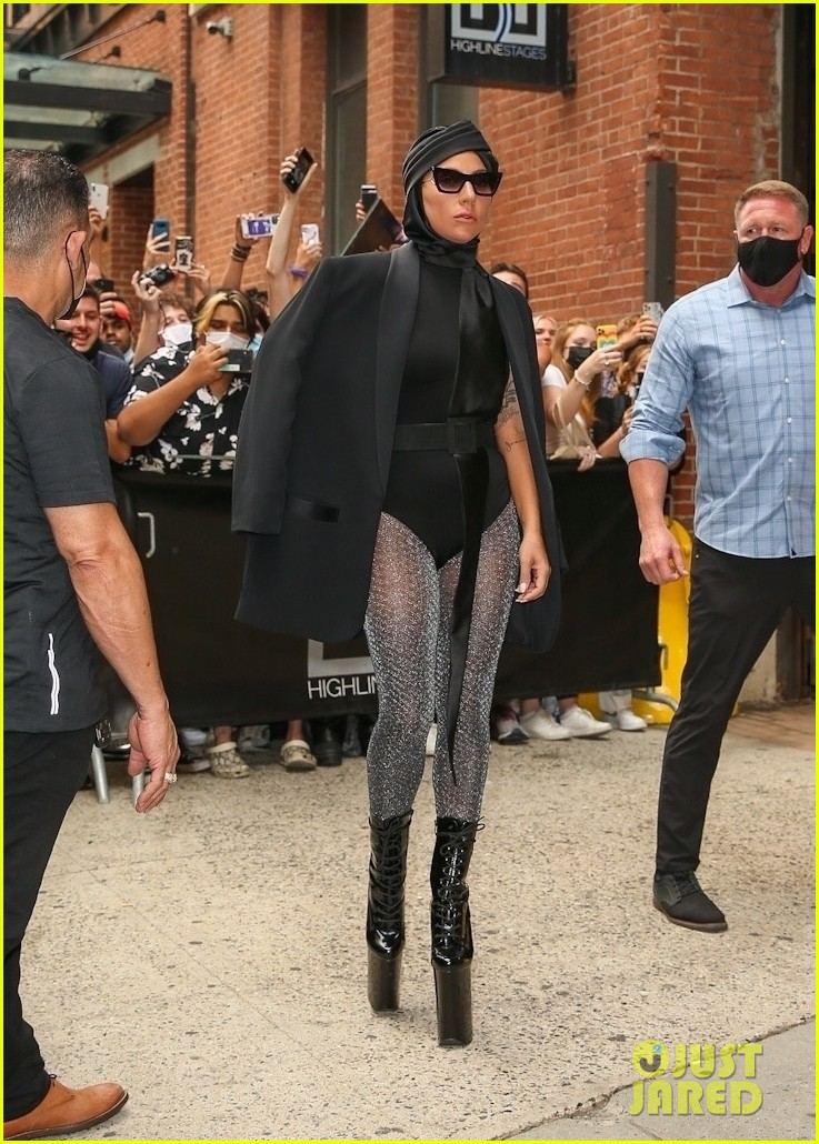 lady gaga slays nyc in two super chic looks 144596734