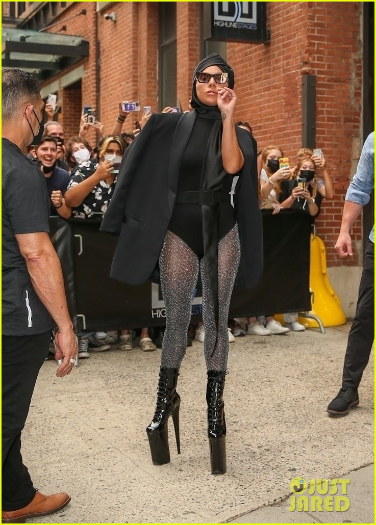 lady gaga slays nyc in two super chic looks 164596736