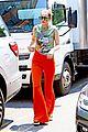 gigi hadid orange pants outing nyc 03