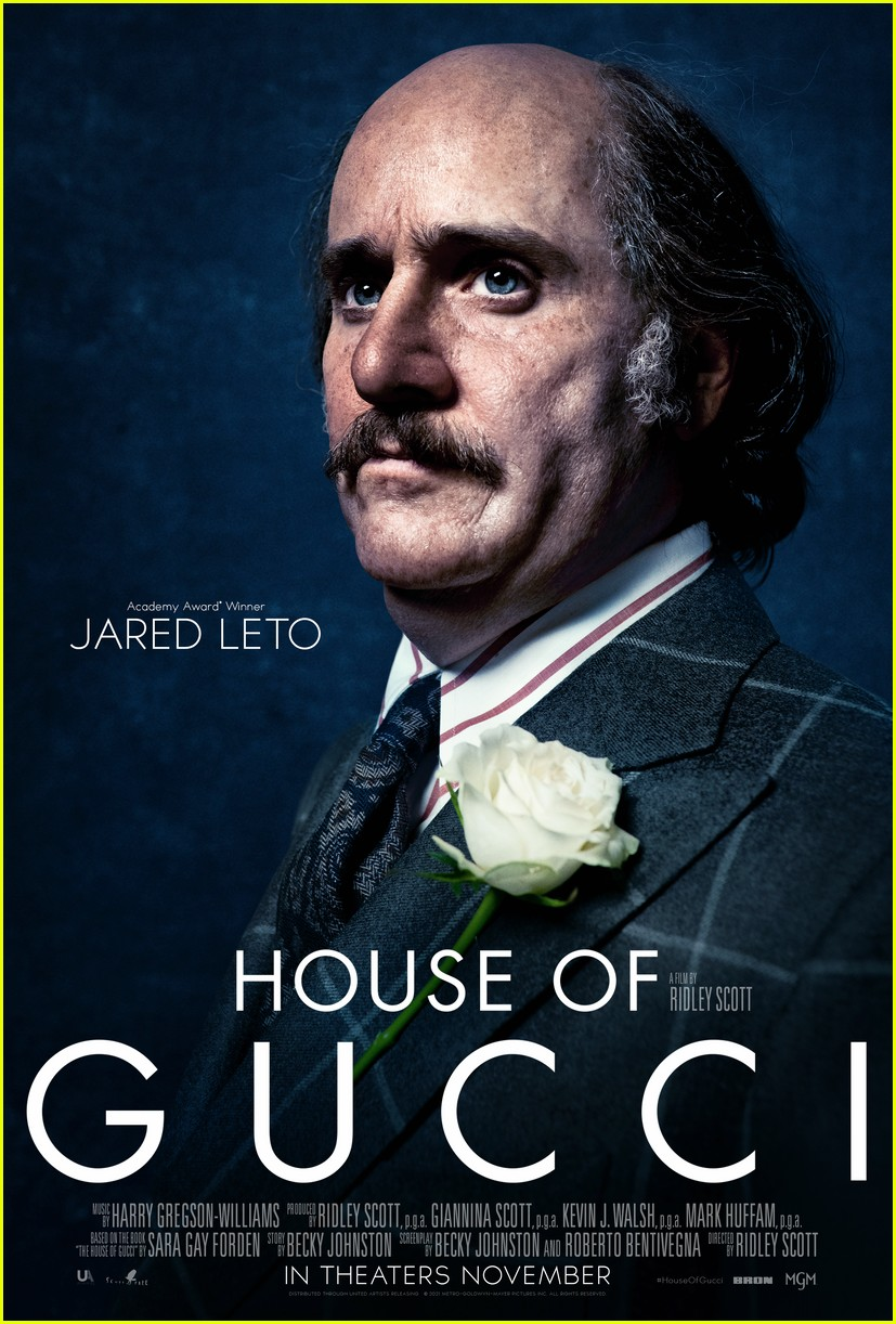 house of gucci debut character posters 034596865
