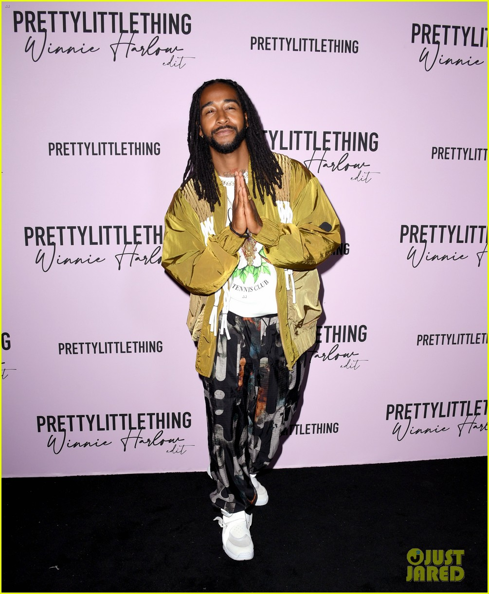 winnie harlow prettylittlethings launchstar studded party 134589150
