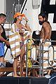 heidi klum tom kaulitz love on display yacht day 80