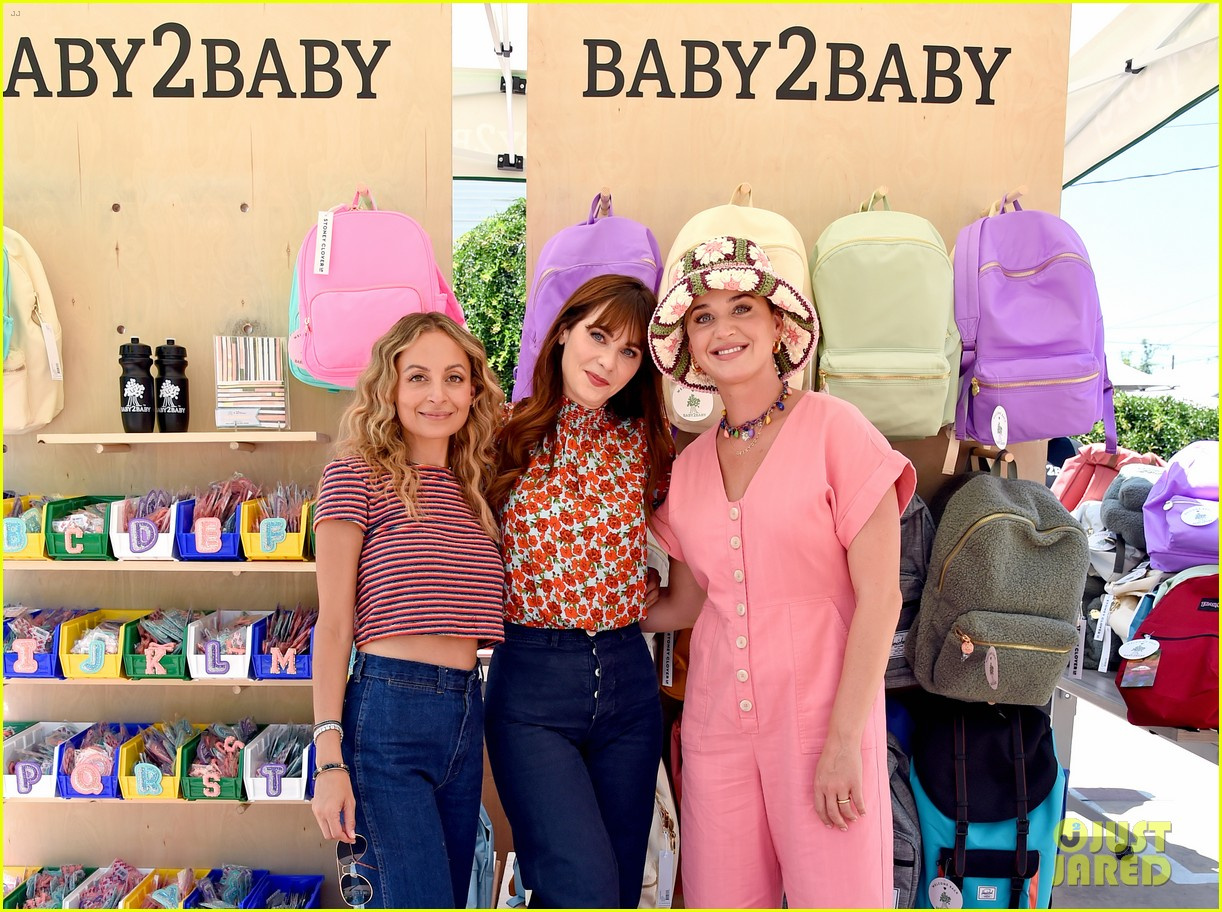 katy perry zooey deschanel nicole richie baby2baby event 03