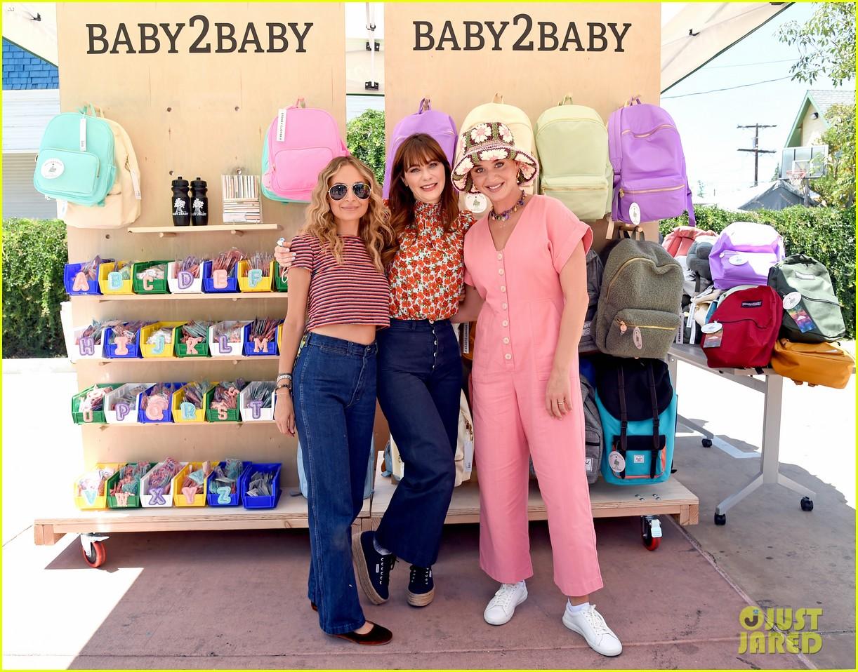 katy perry zooey deschanel nicole richie baby2baby event 044593082