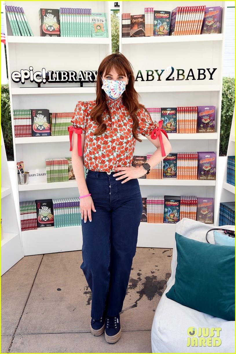 katy perry zooey deschanel nicole richie baby2baby event 144593092