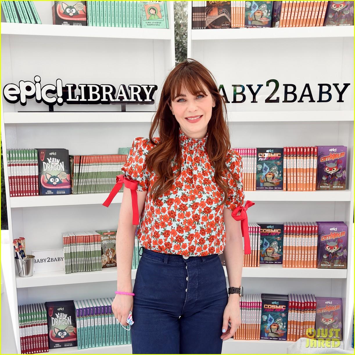 katy perry zooey deschanel nicole richie baby2baby event 254593103