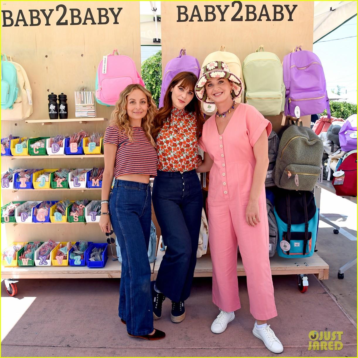 katy perry zooey deschanel nicole richie baby2baby event 264593104