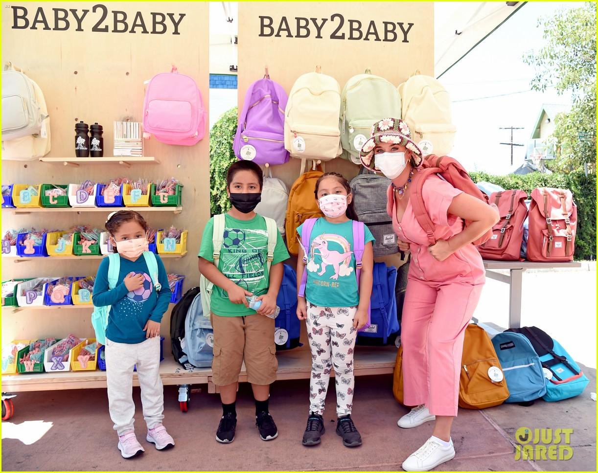 katy perry zooey deschanel nicole richie baby2baby event 344593112