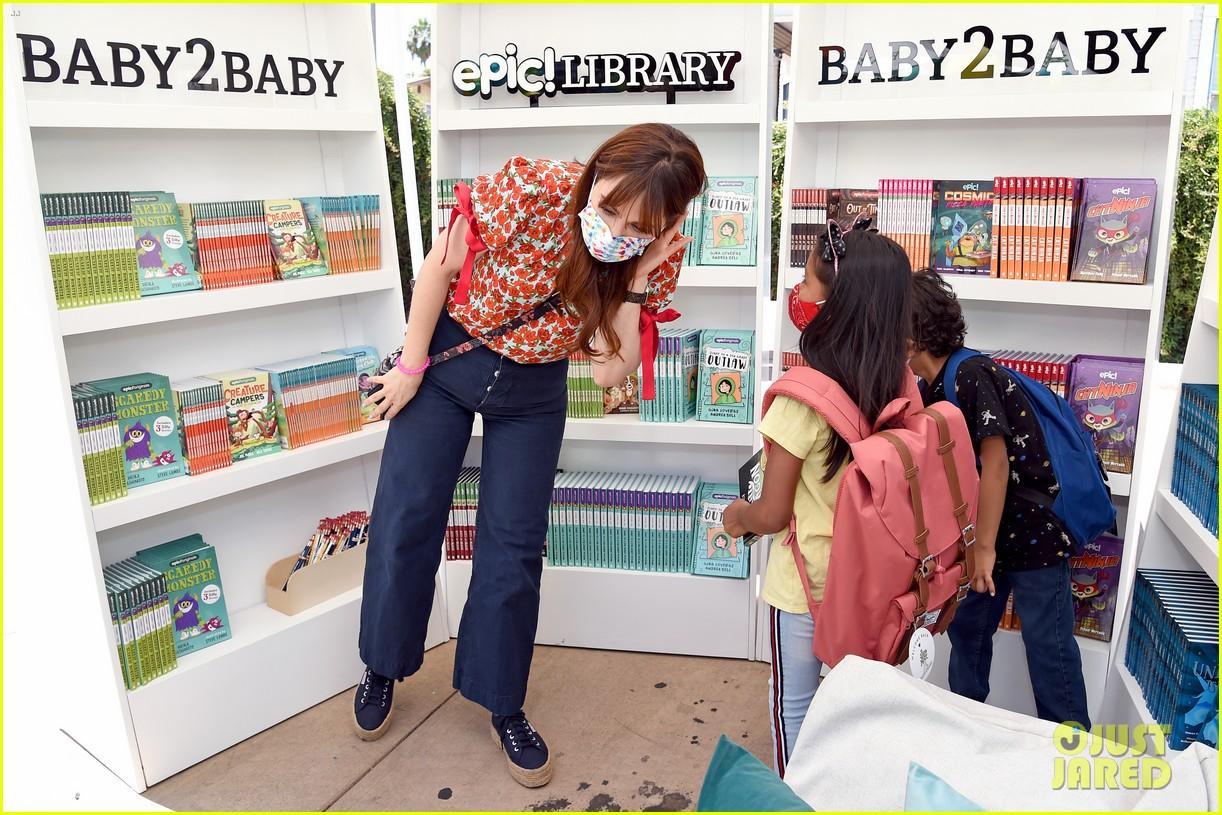 katy perry zooey deschanel nicole richie baby2baby event 624593140