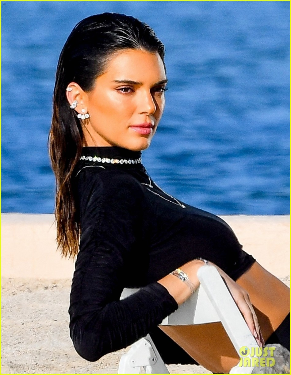 kendall jenner hits the beach for photo shoot in st tropez 074581618
