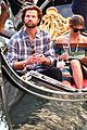 jared padalecki genevieve gondola ride in venice 59
