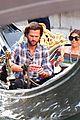 jared padalecki genevieve gondola ride in venice 67