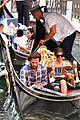 jared padalecki genevieve gondola ride in venice 71