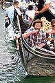 jared padalecki genevieve gondola ride in venice 72