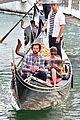jared padalecki genevieve gondola ride in venice 75