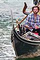 jared padalecki genevieve gondola ride in venice 78