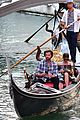 jared padalecki genevieve gondola ride in venice 79
