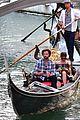 jared padalecki genevieve gondola ride in venice 80