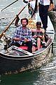 jared padalecki genevieve gondola ride in venice 81