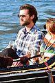 jared padalecki genevieve gondola ride in venice 84