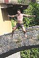 nicole scherzinger thom evans hot bodies in lake como 38