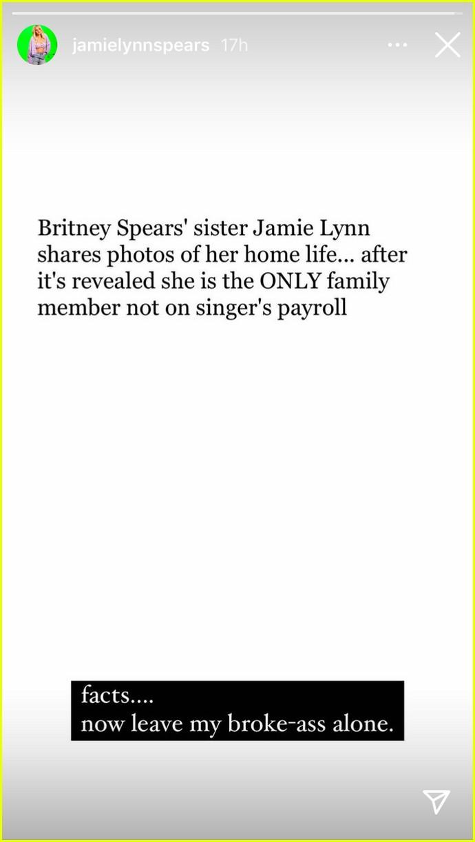 jamie lynn spears says shes broke 014583795