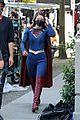 supergirl cast in full costume finale filming 11