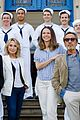 sutton foster sailors anything goes photocall 12