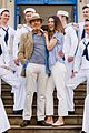 sutton foster sailors anything goes photocall 18