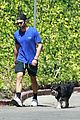 chace crawford walk with his dog 05