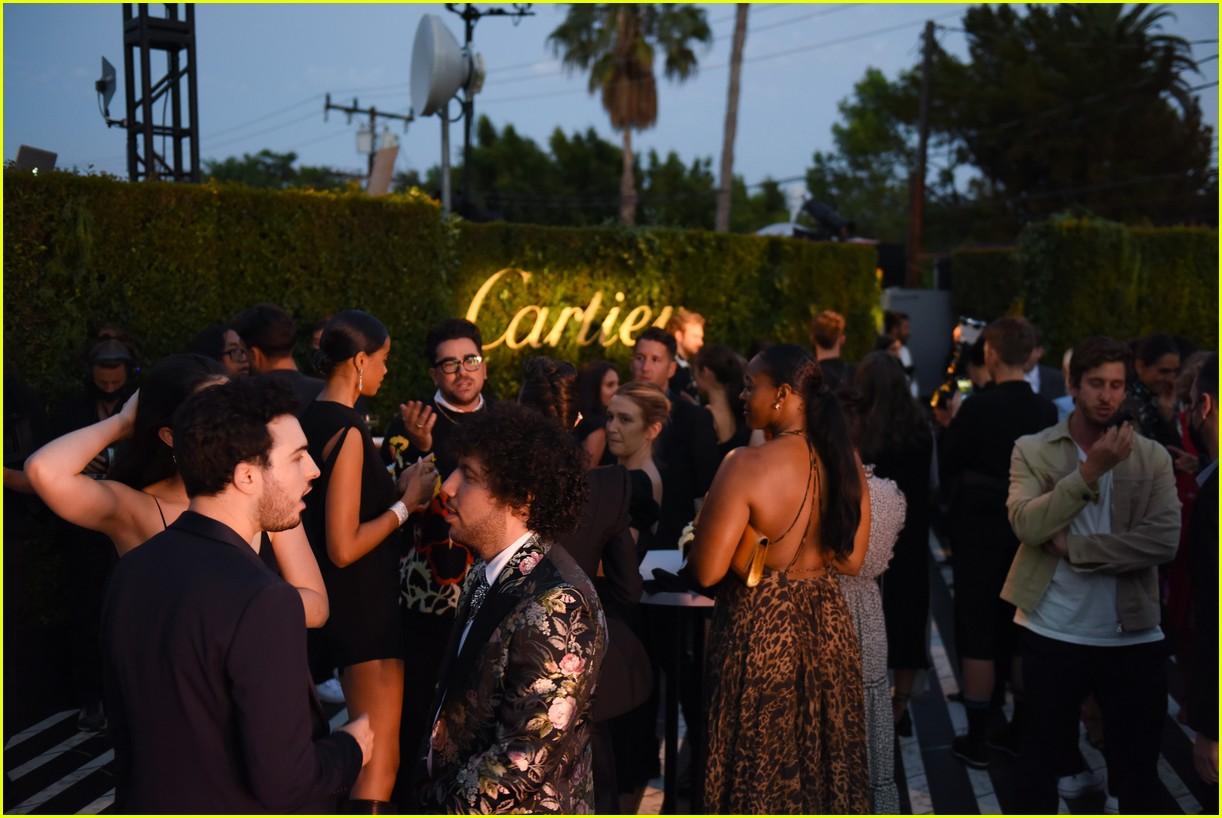 lily collins dove cameron cartier event 104610005