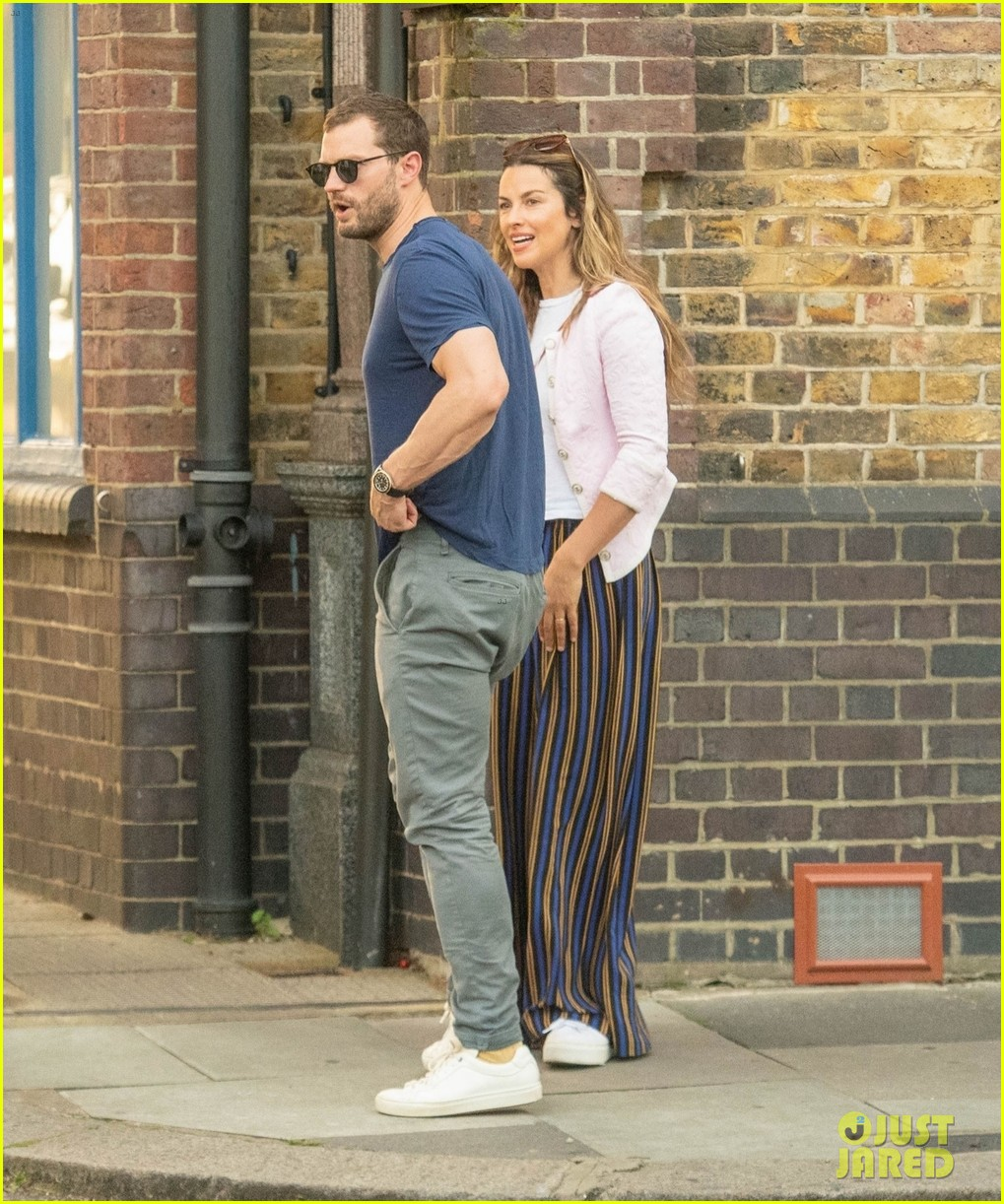 jamie dornan out and about with wife amelia warner 134603592