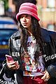 dua lipa bella hadid meet up during day out in london 05