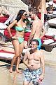 david guetta beach pda with girlfriend jessica ledon 08