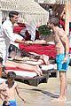 david guetta beach pda with girlfriend jessica ledon 12