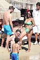 david guetta beach pda with girlfriend jessica ledon 23