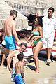 david guetta beach pda with girlfriend jessica ledon 24