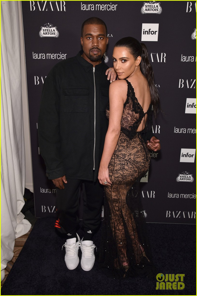 kim kardashian reunites kanye west family outing 024612181