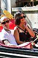 kourtney kardashian travis barker gondola ride pics 04